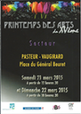 Mars 2015 : Printemps des Arts - Paris 15°
